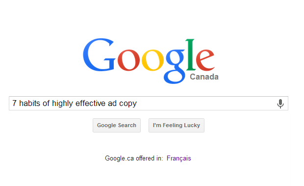 7 Habits of Highly Effective Ad Copy