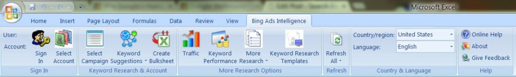 Image of Bing Ads Intellingence – Keyword Research
