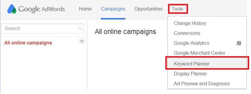 Google Keyword Planner - Keyword Research Tool
