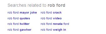 Search Engine Related Searches Suggestion