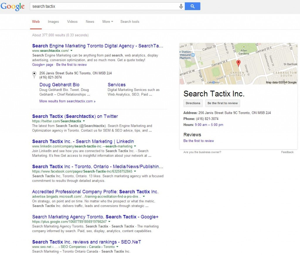 STI – Google Places 1