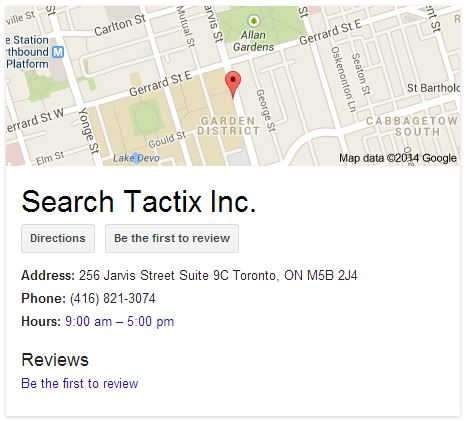 STI – Google Places